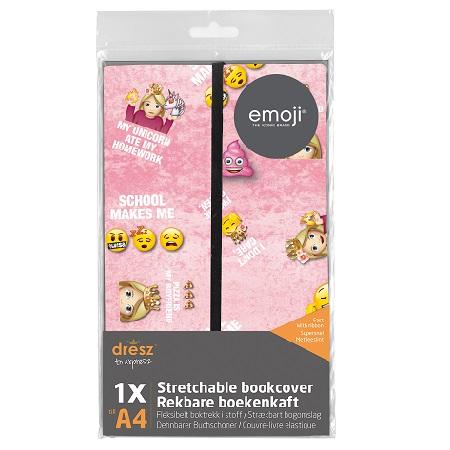 Rekbare boekenkaft Emoji Girls