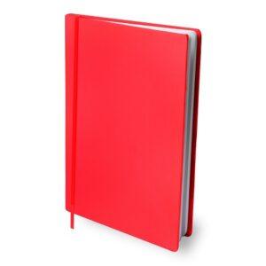 Rekbare boekenkaft Rood