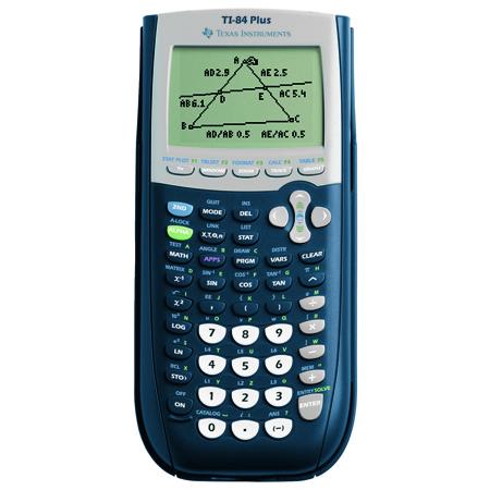 Rekenmachine Texas Instruments TI 84 PLUS grafisch