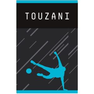 Schrift Touzani A4 gelijnd