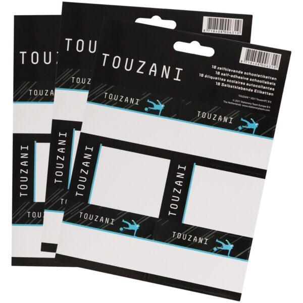 Etiketten Touzani: 18 stuks