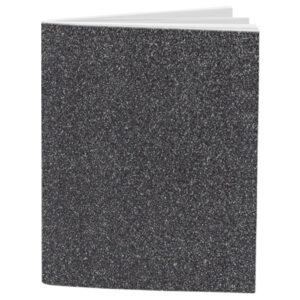 Schrift A4 10mm Glitter Silver Grey