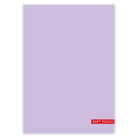 Schrift A4 10mm Soft Purple