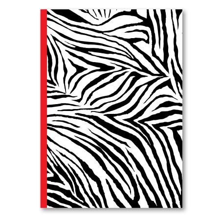 Schrift A4 10mm Wild Zebra
