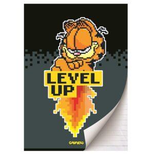 Schrift A4 lijn Garfield