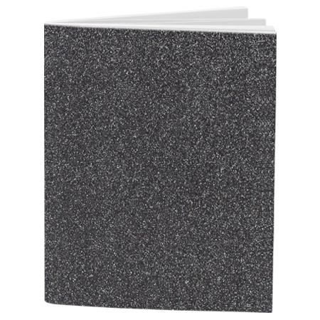 Schrift A4 lijn Glitter Silver Grey