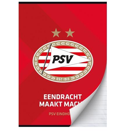 Schrift A4 lijn PSV