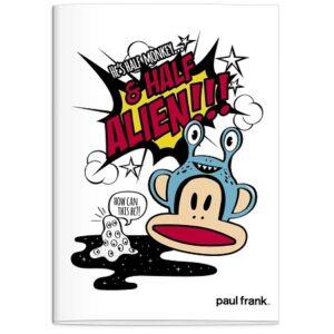 Schrift A4 lijn Paul Frank Boys