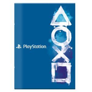 Schrift A4 lijn Playstation