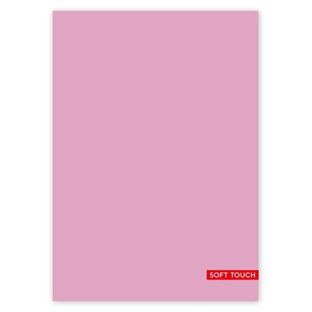 Schrift A4 lijn Soft Pink