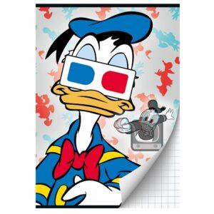 Schrift A4 ruit Donald Duck