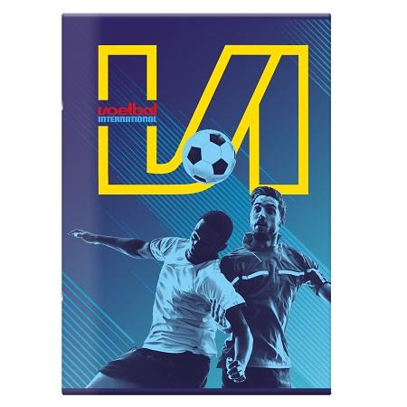 Schrift A4 ruit Voetbal International
