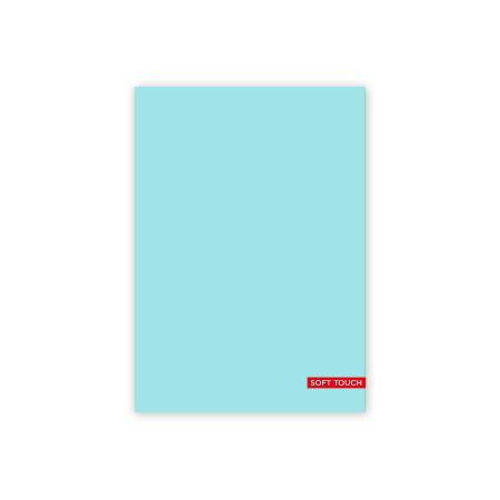 Schrift A5 lijn Soft Blue