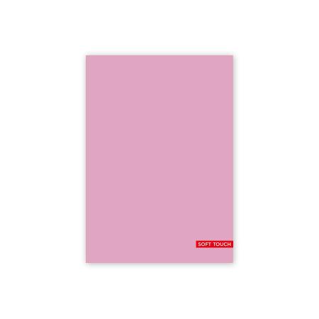 Schrift A5 lijn Soft Pink
