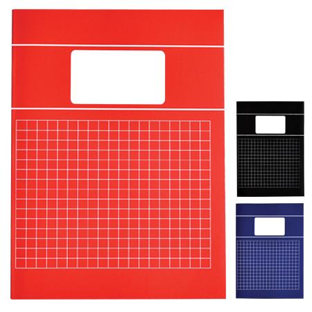 Schriften A4 ruit 10mm met kantlijn Basis