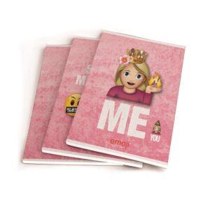 Schriften A5 Emoji Girls