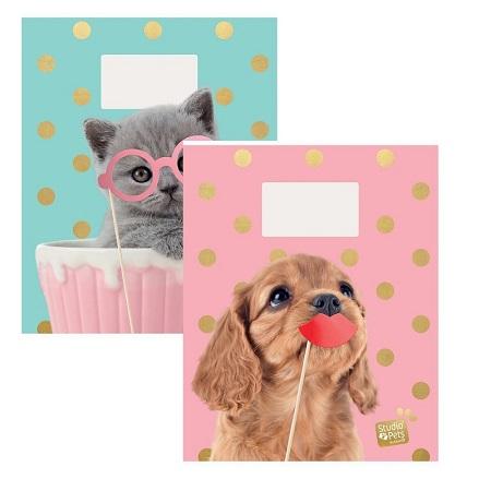 Schriften A5 lijn Studio Pets