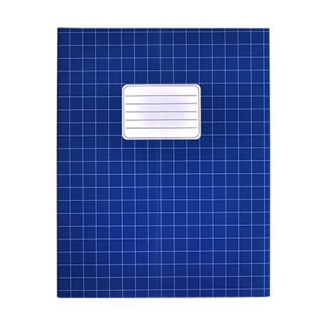 Schriften A5 ruit 10mm blauw