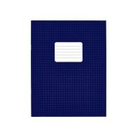 Schriften A5 ruit 5mm blauw