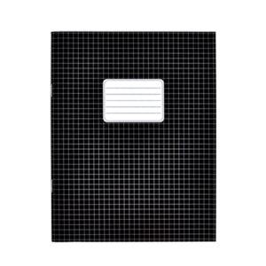 Schriften A5 ruit 5mm zwart
