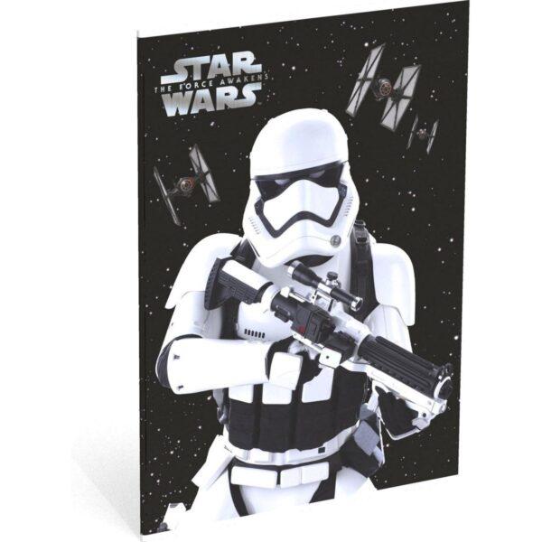 Schrift A4 ruit Star Wars