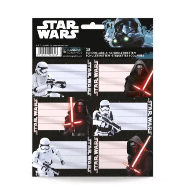 Etiketten Star Wars