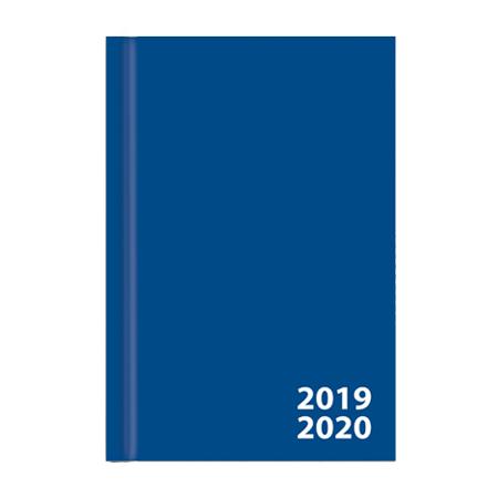 Studieagenda A5 blauw 2020-2021