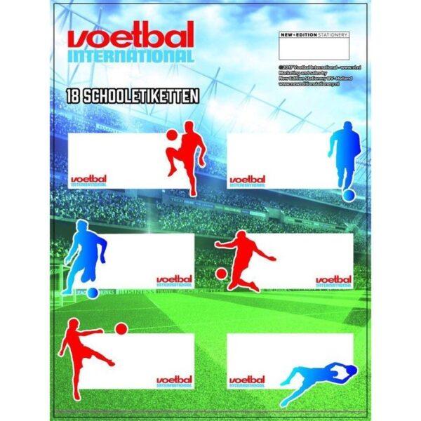 Etiketten Voetbal International
