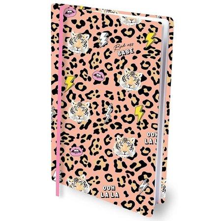 Rekbare boekenkaft tiger