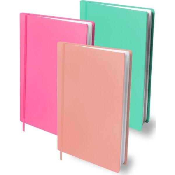 Rekbare boekenkaft A4 3-pack mix girls