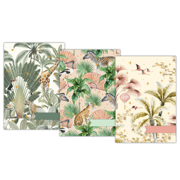 Oriental Flamingo Flight/Into the Wild/Sweet Jungle A5 schriftset