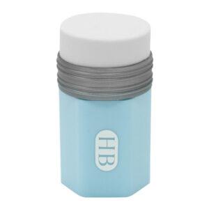 Gum+slijper combi Potlood blauw