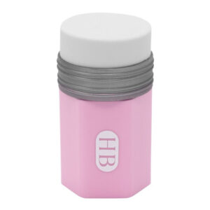 Gum+slijper combi Potlood roze