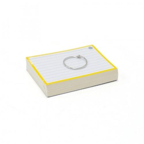 Flashcard geel