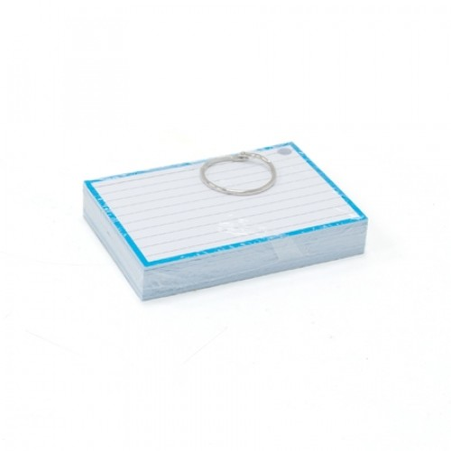 Flashcard blauw