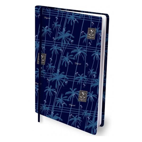 Rekbare boekenkaft palm trees
