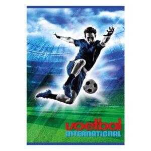 Schrift A4 lijn Voetbal International